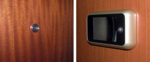 Porte blindate for Spioncino elettronico per porte blindate